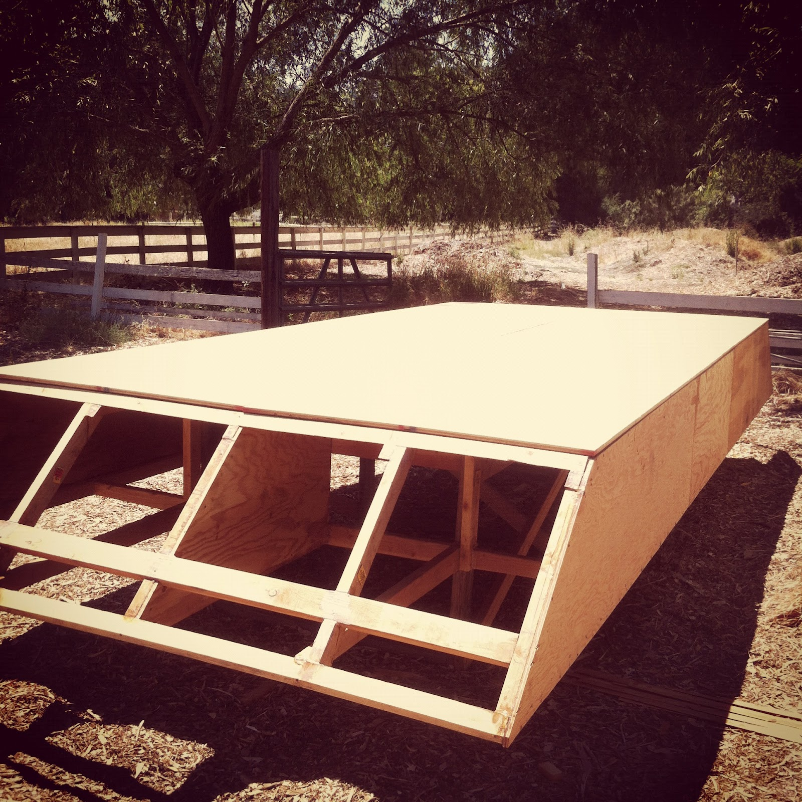 Shanty Boat: Sheeting the Hull