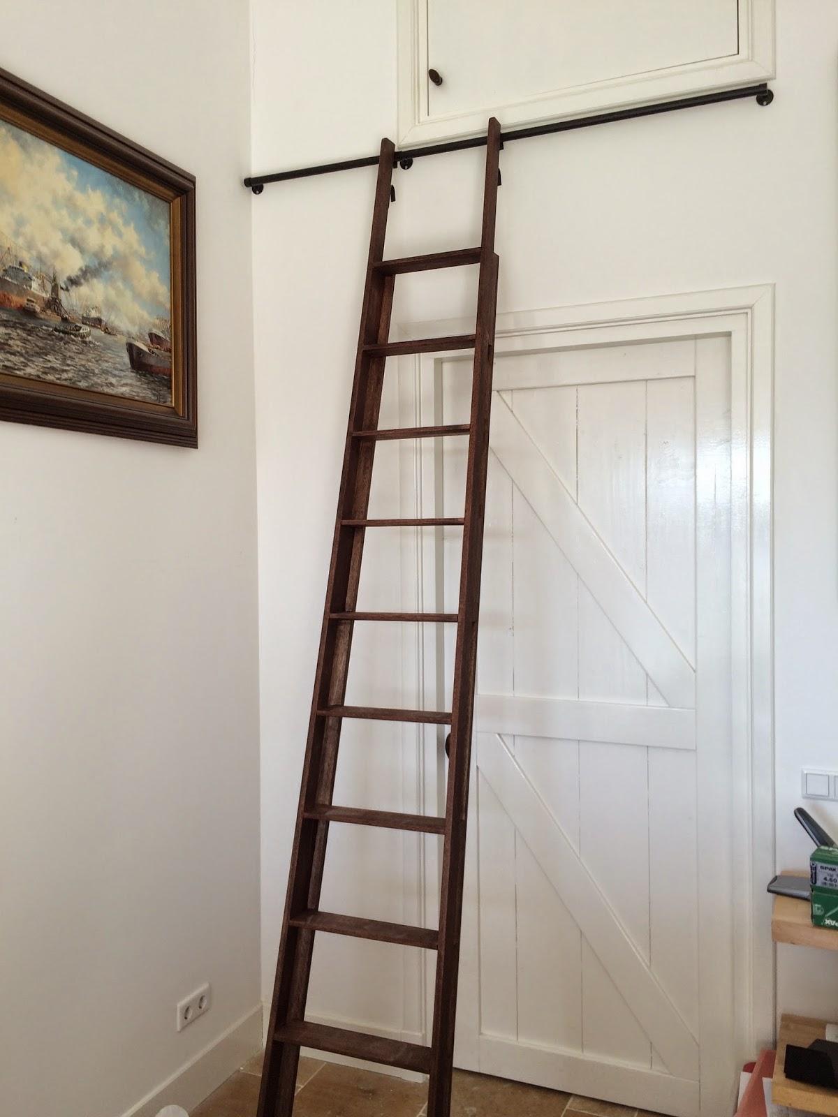 ladder voor klassiek interieur