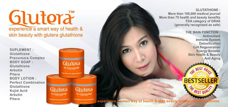 Glutera Glutathione Master Antioksidan