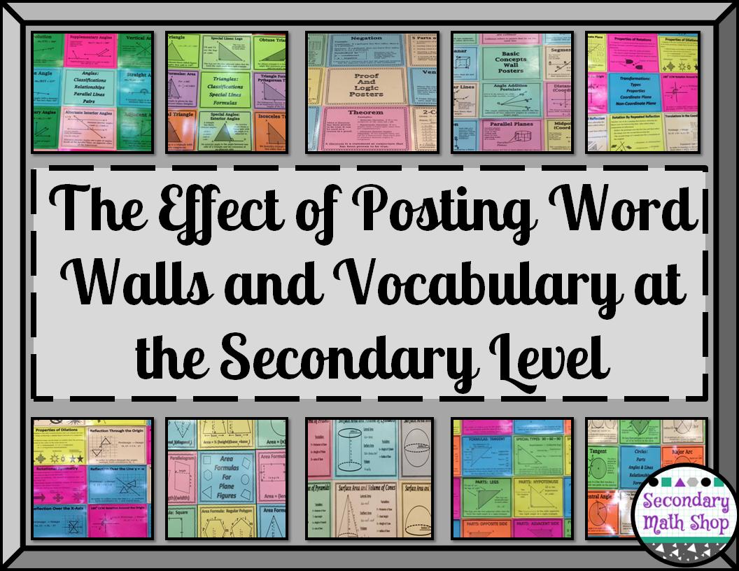 vocabulary instruction middle school
