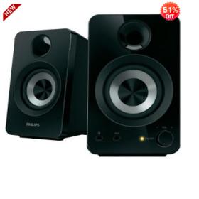 Rediff: Buy Philips Multimedia Speakers 2.0 SPA1260/12 at Rs.800