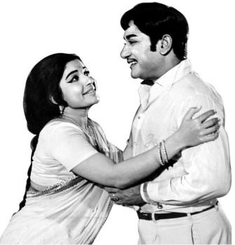 Shivaji Ganesan & J.Jayalalitha