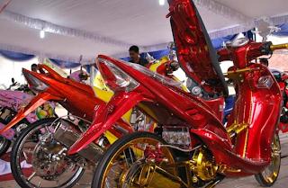 15 Foto Modifikasi Motor Yamaha Jupiter Z
