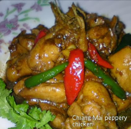 Cooking Pleasure: Chiang Mai Peppery Chicken