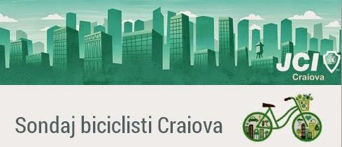 Cati biciclisti sunt in Craiova?