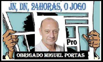 OBRIGADO MIGUEL PORTAS