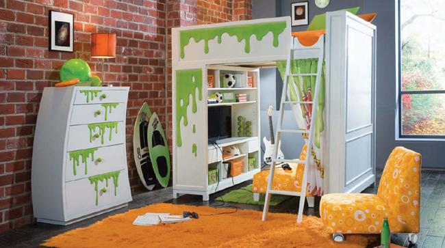 Dormitorios infantiles divertidos dormitorios con estilo - Dormitorio infantil original ...