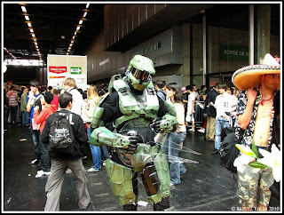 Cosplay de master chief du jeu Halo