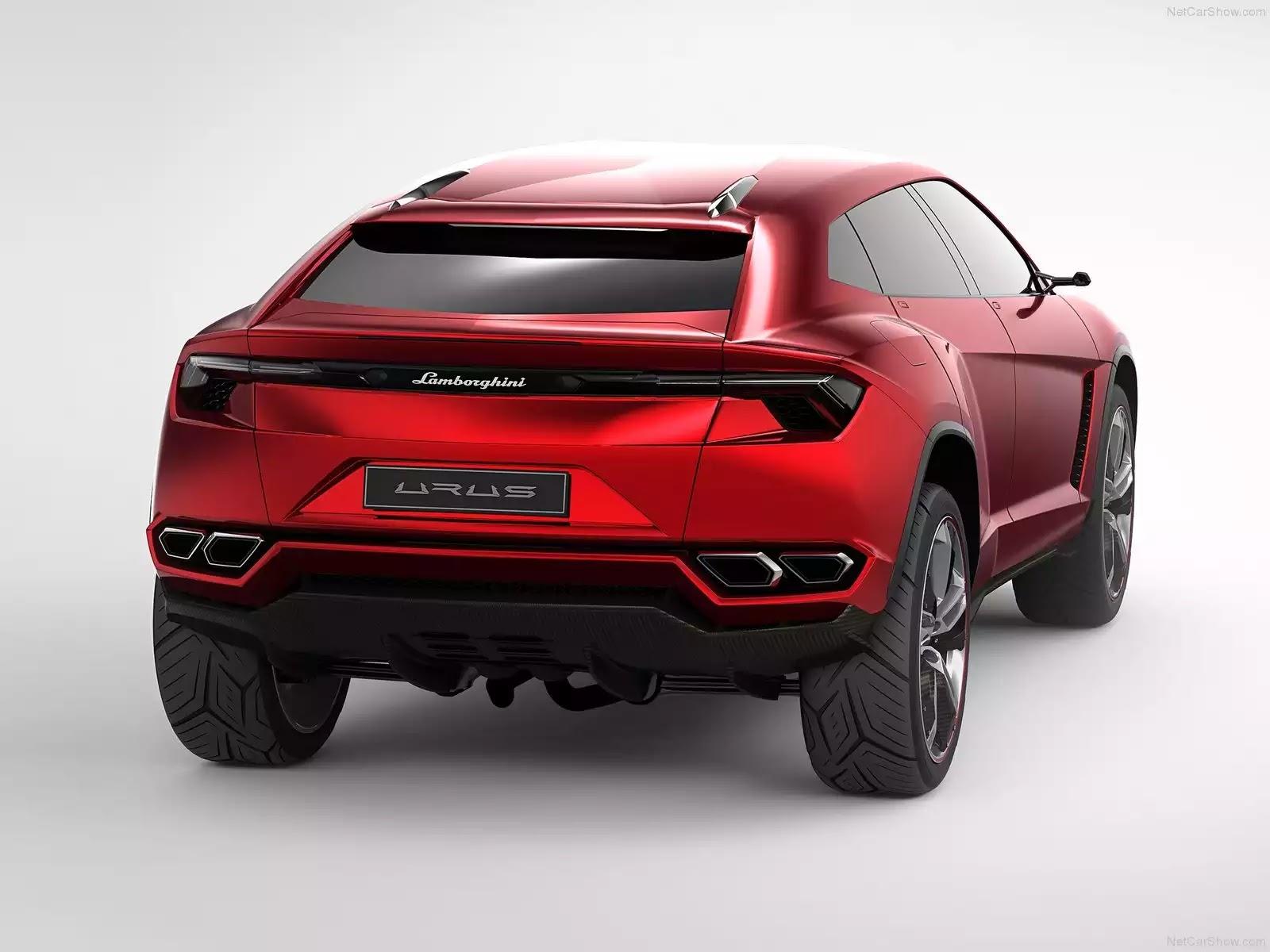Hình ảnh siêu xe Lamborghini Urus Concept 2012 & nội ngoại thất
