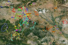 Descárgate las rutas para GPS Garmin: