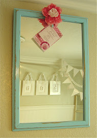 Icy Aqua Mirror (SOLD)