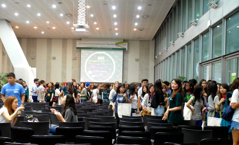 ewha university summer studies welcoming ceremony orientation seoul korea travel lunarrive blog singapore