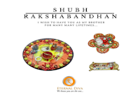 Raksha Bandhan Special Offer : Rakhi Thali set at Rs.332 : Buytoearn