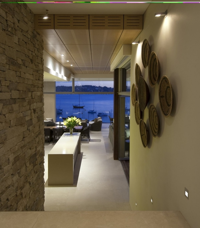 Modern interiors from the hallway