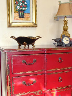 4 The Love Of Wood Tips For Distressing Primer Red Dresser