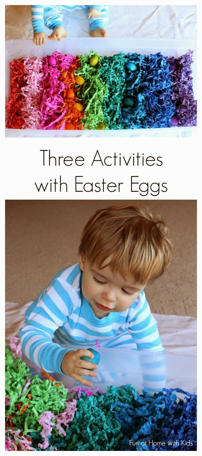 http://www.funathomewithkids.com/2014/03/rainbow-wooden-easter-egg-activities.html