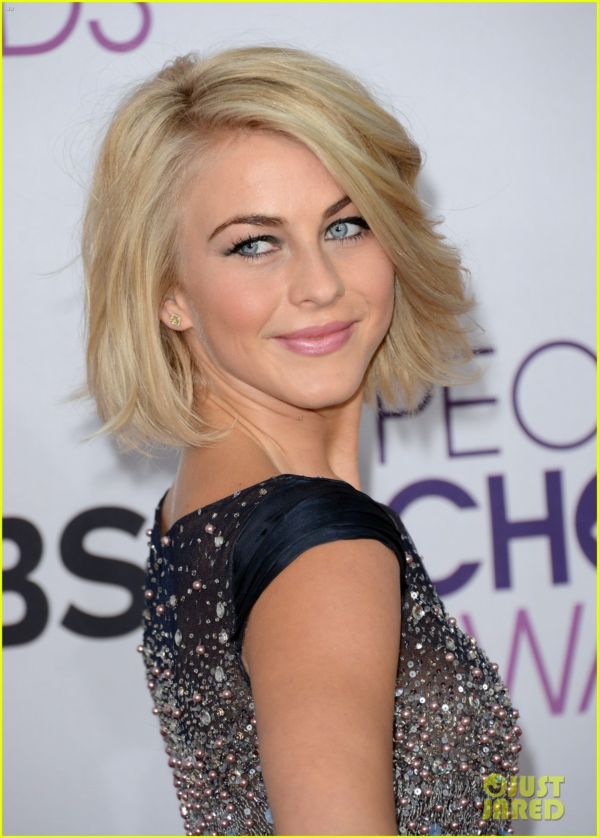 pull back if you need to  Julianne Hough Short Hair Back View
