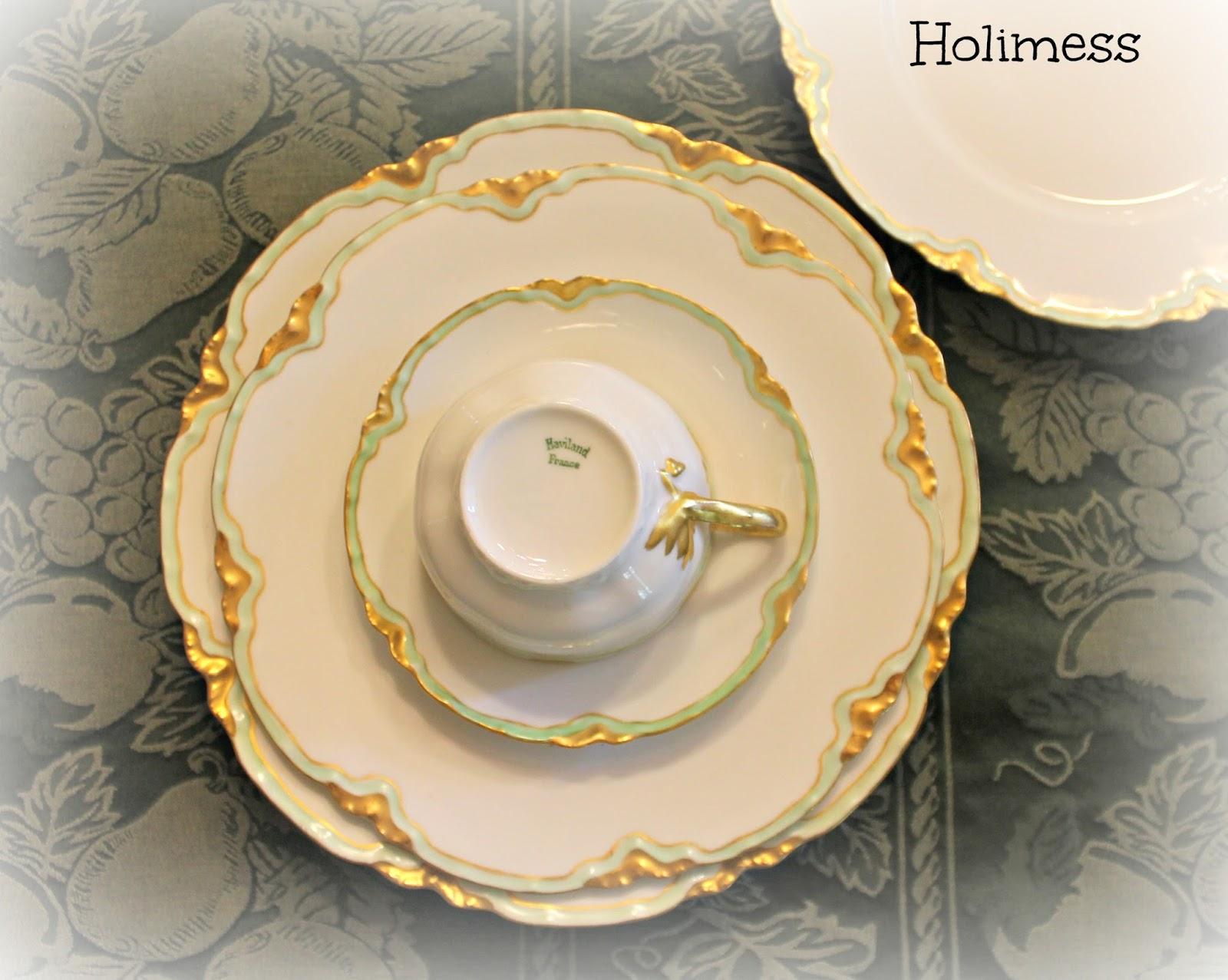 Haviland Limoges China & HoliMess: Haviland Limoges China
