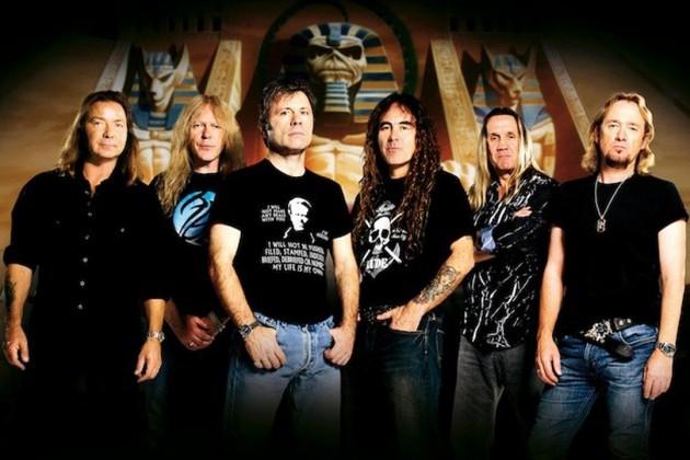 Iron Maiden usa pirataria para escolher os locais de shows