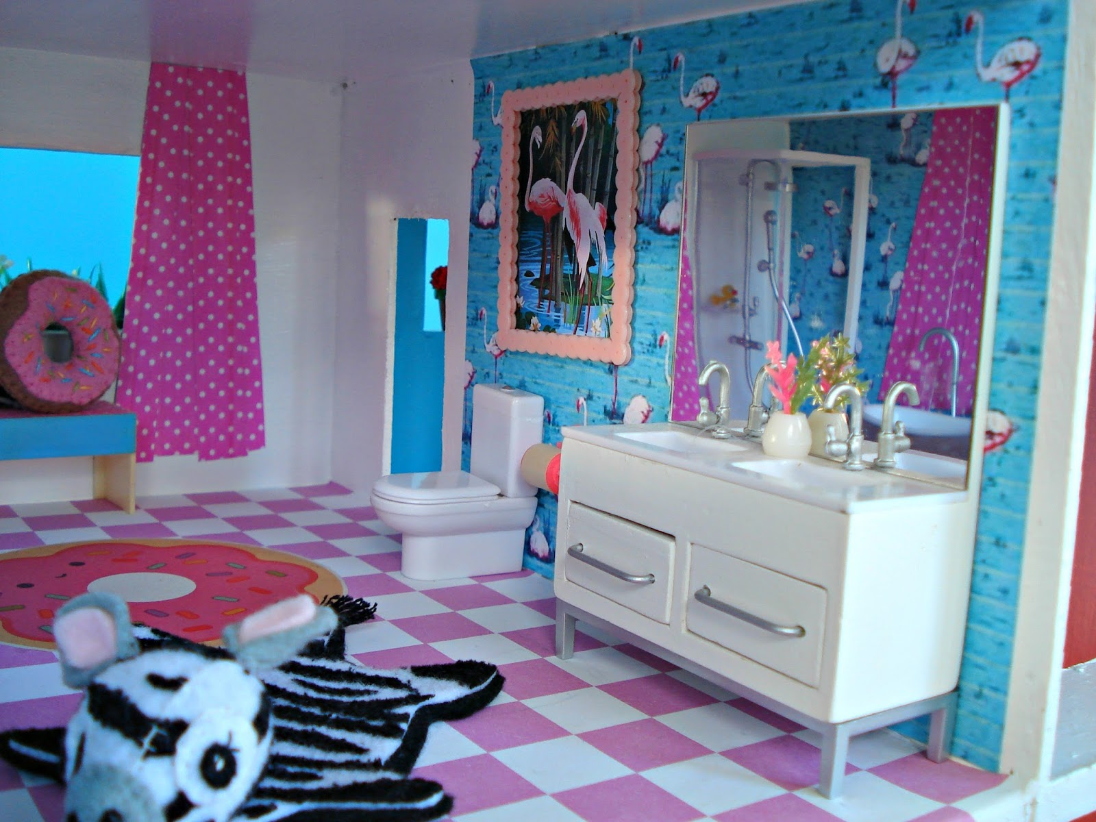 Dolls House Makeover: The Bathroom