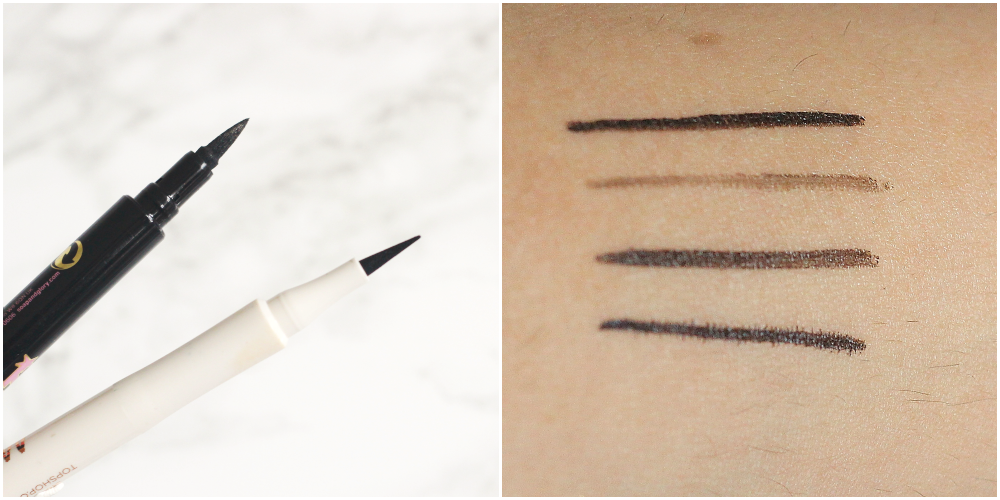 soap and glory supercat liner review swtch topshop magic liner in engraved review and swatch