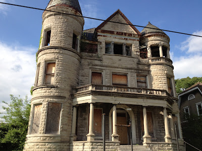 Eerie Indiana Abandoned Ouerbacker Mansion Louisville