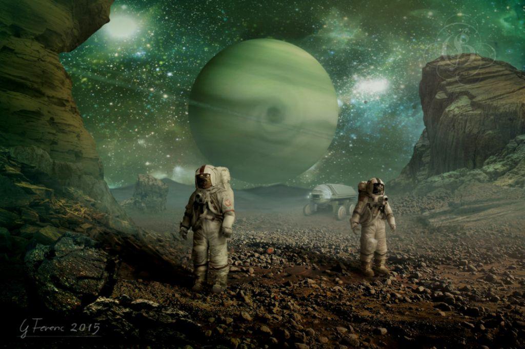 Alien world by FeriAnimations on DeviantArt