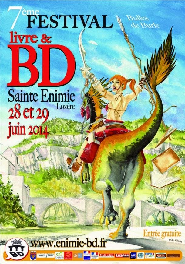 Festival BD de Sainte-Enimie : + d'infos