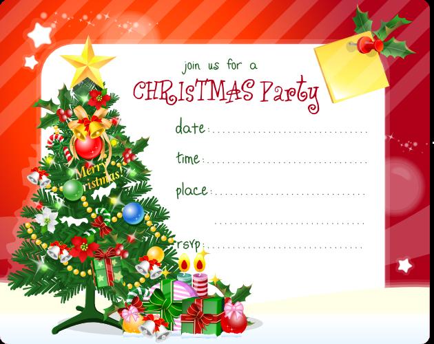christmas invites free templates