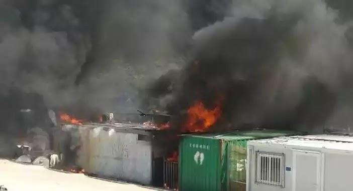 Μέχρι και λαθρο  βάρβαροι απο την Αϊτή εισβάλουν στην Ευρώπη!Εξέγερση στο Μόρια -Φωτιές, πετροπόλεμος και χημικά !