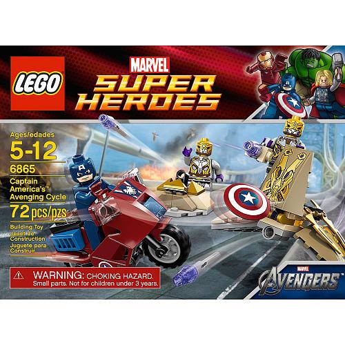 Imagenes de los sets de lego marvel super heroes