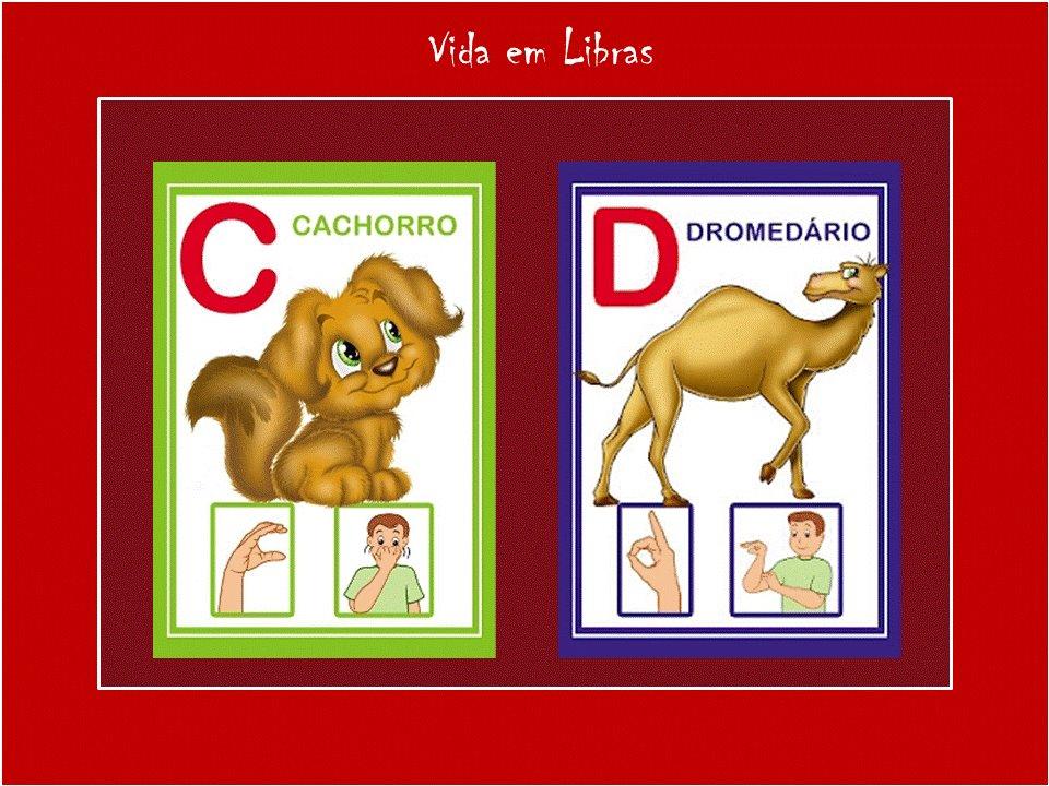 Suficiente Vejo Vozes: Alfabeto com animais DK06