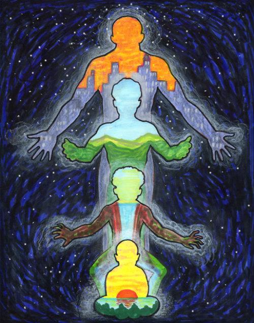 в съзнанието ви и във физическите ви, умствени и емоционални тела