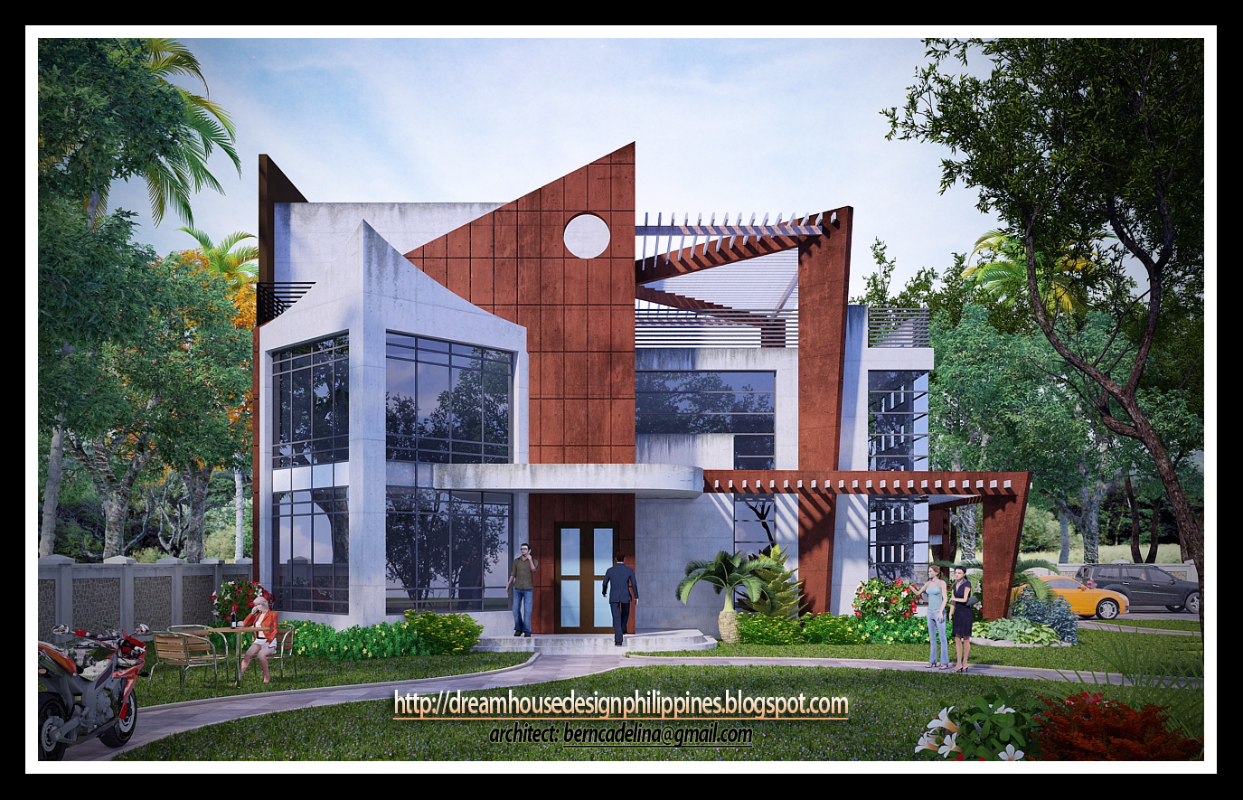 Philippine dream house design modern house for Philippine houses design pictures