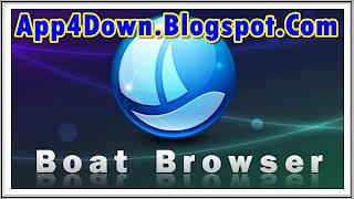 Download Boat Browser 2.1 For Tablet APK Latest Free Browser