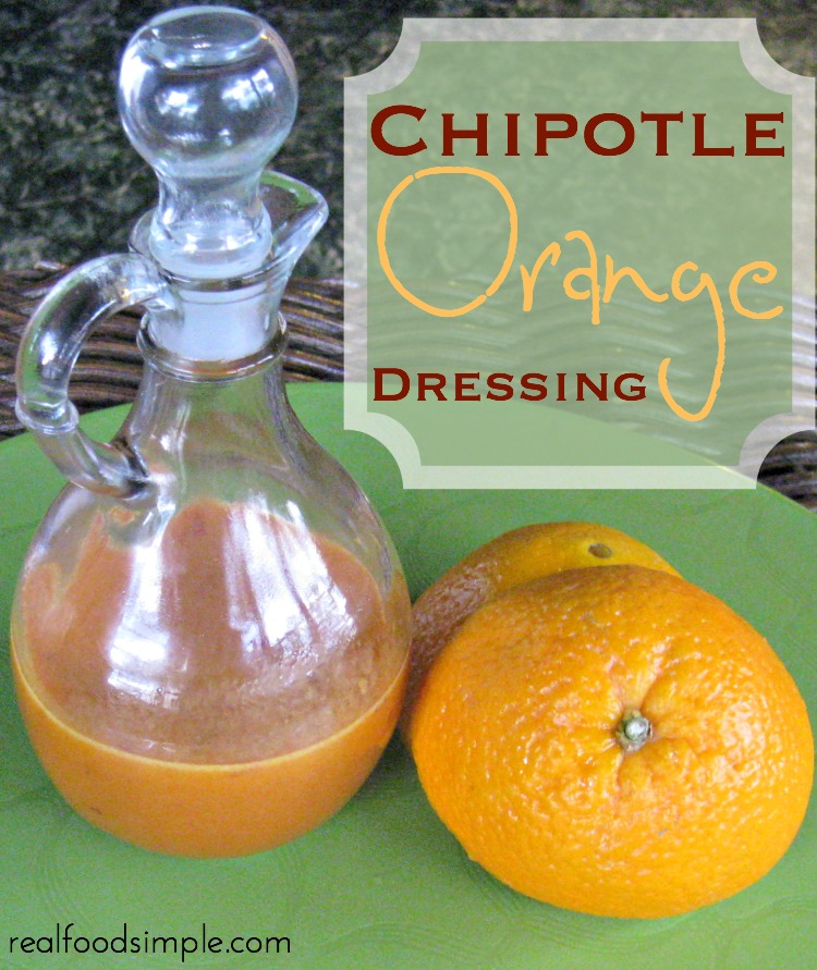 chipotle orange dressing | realfoodsimple.com