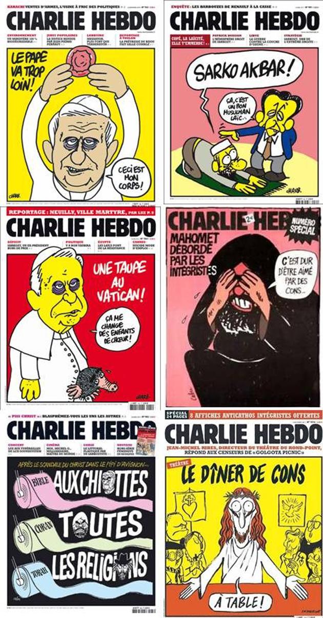 Unes Charlie Hebdo