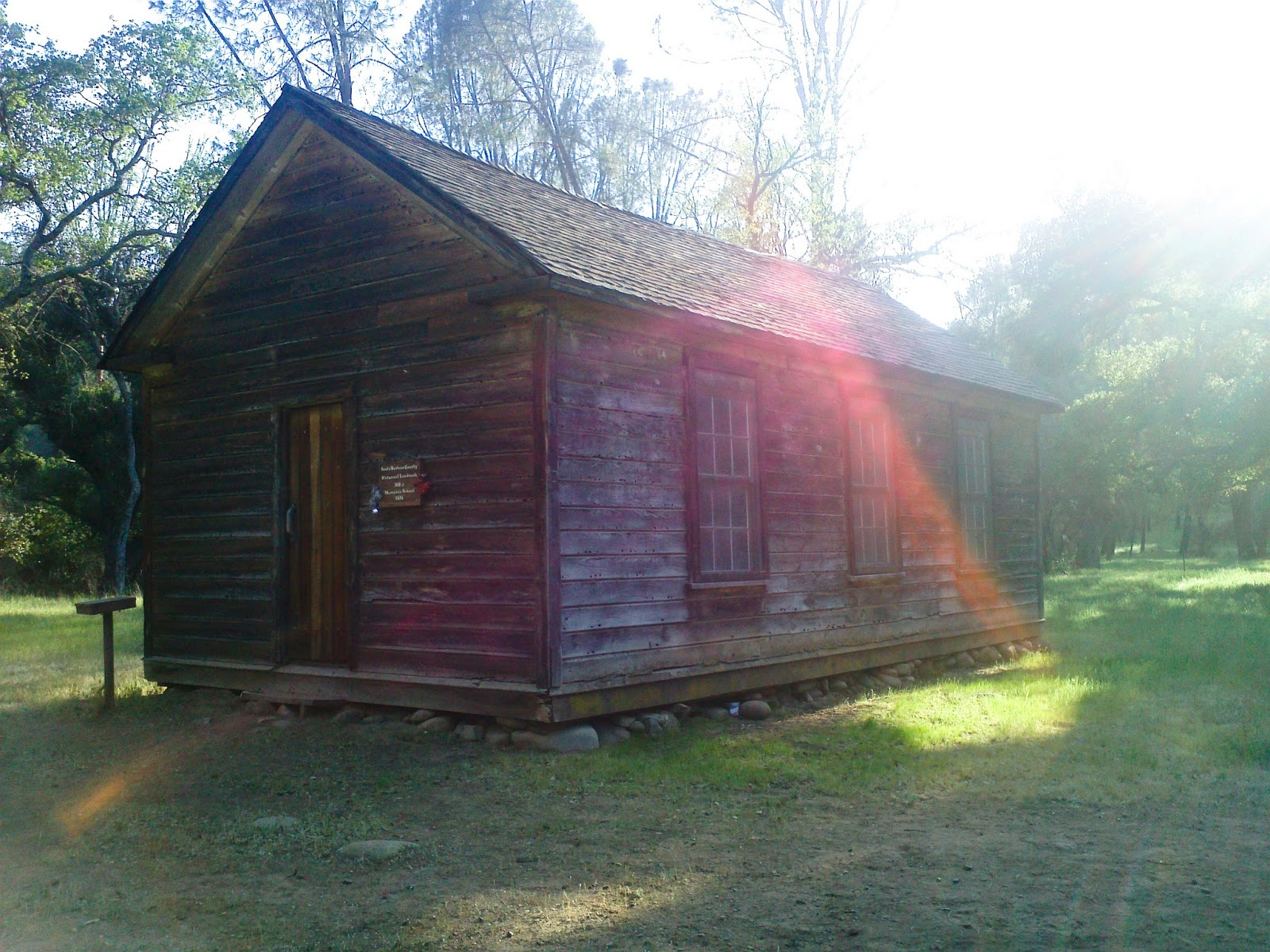 Manzana School House Was Built In The Late 1800u0027s For The Residents  Presiding In The Area. The Trail Leads Pass Old Structures, Grave Yards,  Farm Land, ...