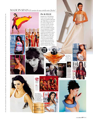 Penelope Cruz Elle Spain Magazine Photoshoot February 2014 HQ Pics