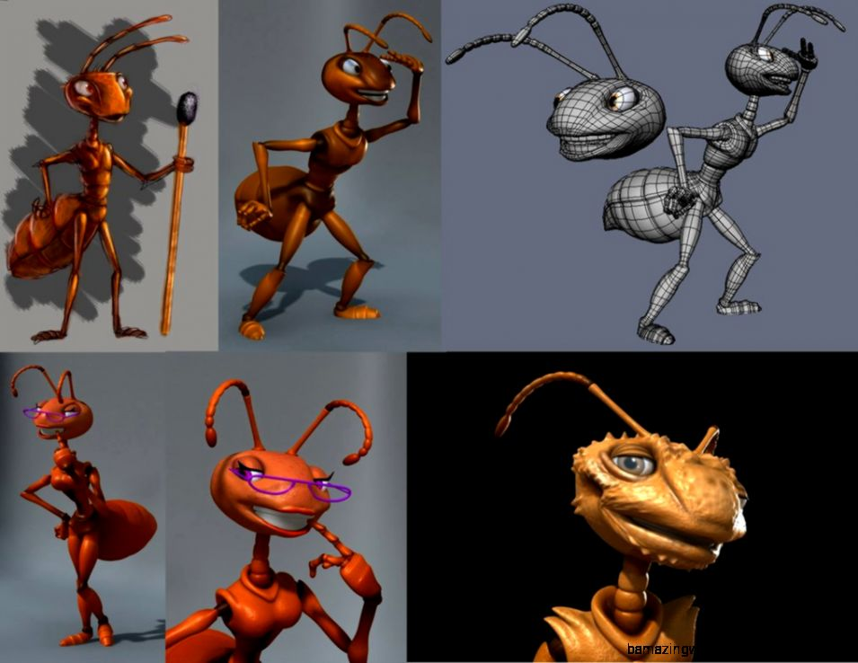 ants  design and 3d by fernandofaria on DeviantArt