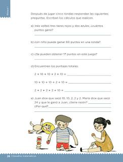 Apoyo Primaria Desafíos matemáticos 2do grado Bimestre 1 lección 8 Los tazos
