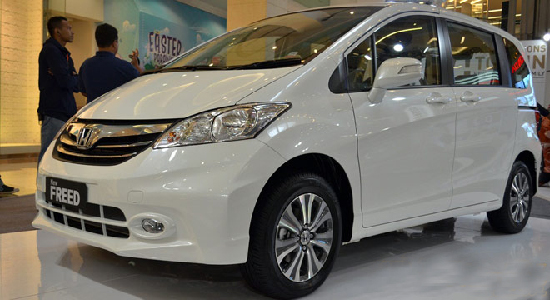 mobil honda freed images