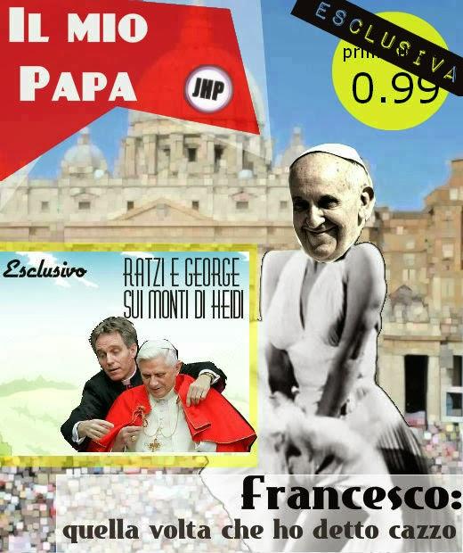 papa francesco giornale