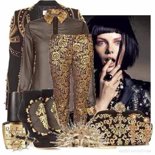 Fashion Fashionistaz Baroque Inspired Trend
