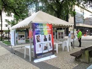 Santos promove atividades no Dia contra a Homofobia (Foto: Mariane Rossi)