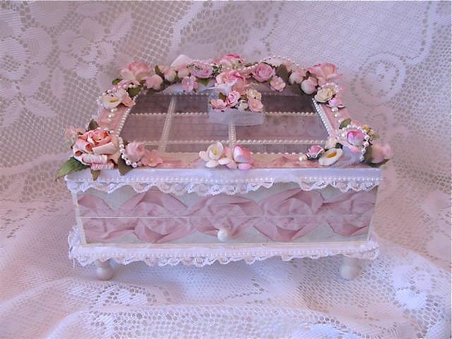 Martica Designs Shabby Chic Jewelry BoxFor Sale
