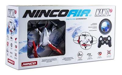 TOYS : JUGUETES - NINCO  NINCOAIR - Nano 2 CAM : Drone - Quadrone  Helicopteros RC - Radiocontrol | Ref. NH90097 | A partir de 14 años  Comprar en Amazon España