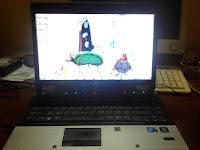 laptop second, Alhamdulillah :-)