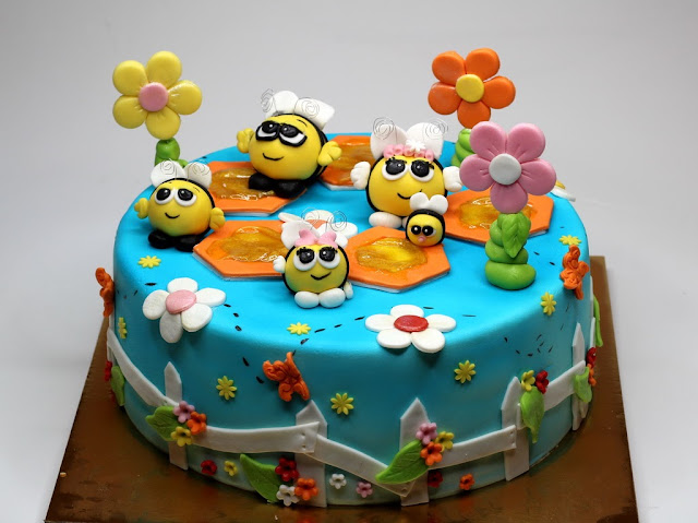 The Hive Children Birthday Cake in Mayfair, London