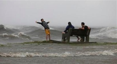 Hurricane Isaac makes landfall in La.